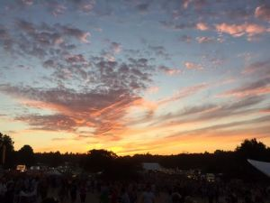Sunset over Latitude