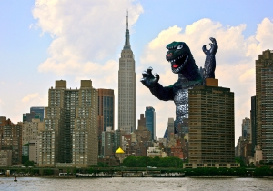 financial independence godzilla