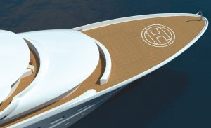 Yacht heli