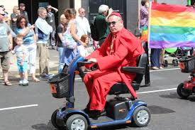 pope in scooter