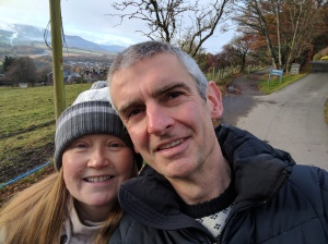 David S and wife